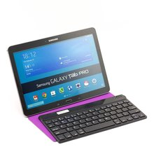 7-10 inch ultra thin universal PU leather Bluetooth keyboard case cover for Ipad/ samsung pad