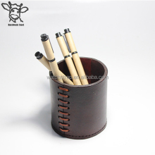 Handmade Band vintage handmade leather tubular penrack