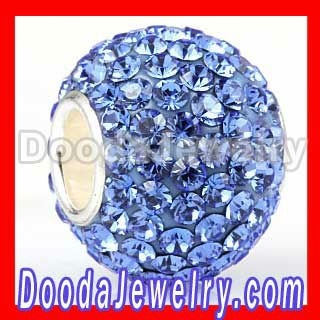Cheap European Pave austrian rhinestone crystal Beads SW3011