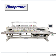 Richpeace Computer High Precision 6 Heads 9 Needles Flat Embroidery Machine
