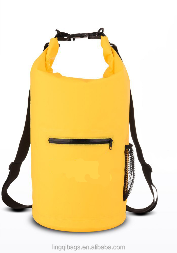 High quality roll top lightweight backpack waterproof