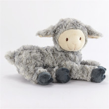 Factory Custom Sheep plush toys Lovely Baby Lamb Stuffed Dolls for Kids