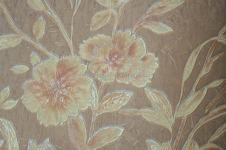 Detai korean design pvc wallpaper vinyl