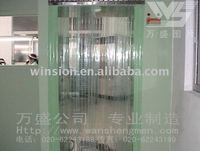 Freezer pvc door screen