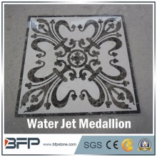 Hotel lobby floor tile square designs european marble medallion for sale