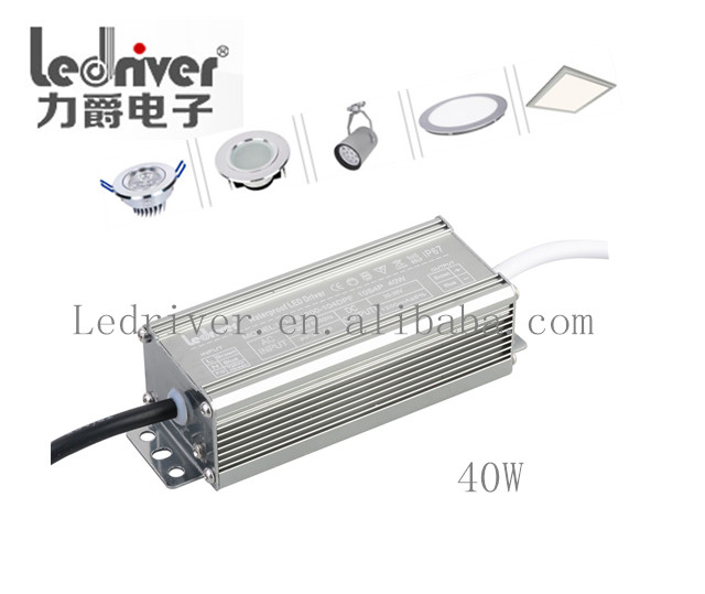 Waterproof 70W 36V Waterproof Led Power Supplies Constant Current Led Driver Ic