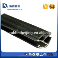 Flocked Lined Window Rubber