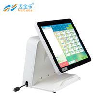 android based restaurant 15 inch Cheap Android/ Windows Electronic Cash Register POS Systems hardware
