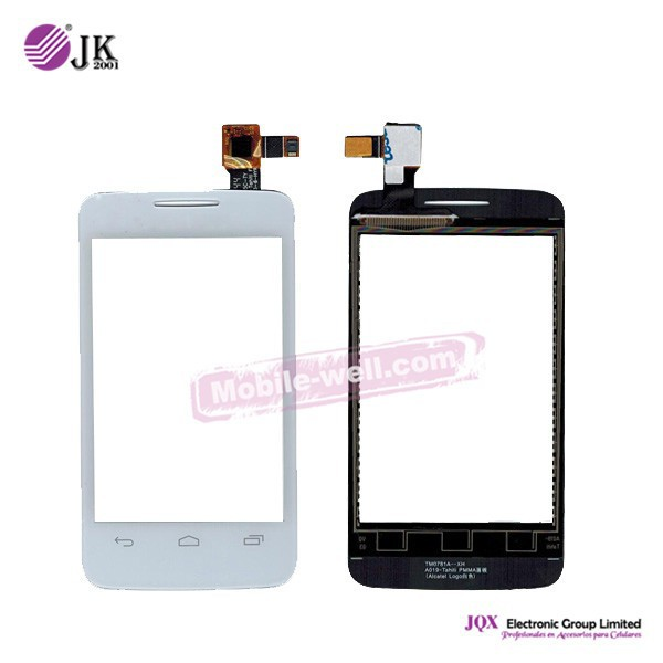 [JQX] Original For Alcatel one touch OT3040 Touch Screen , For Alcatel one touch Screen , For Alcatel Parts