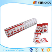 laminated aluminium foil for tomato paste