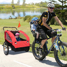 New 2 in 1 Twin Baby Kids Bicycle Bike TRAILER Child Baby Stroller(BT003)