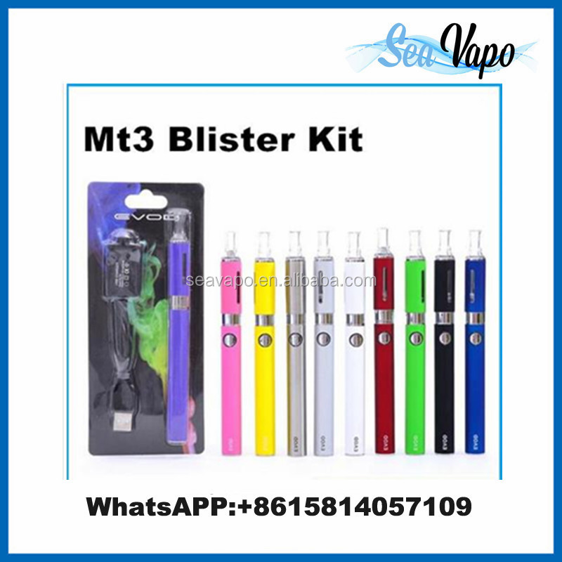 New product mt3 elektronik sigara with mt3 atomizer e cigarette evod battery,evod mt3,evod+mt3 electronic cigarette