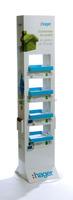 hager 4 layer custom brand product retail display rack