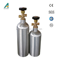 special gas used refillable aluminium gas cylinder