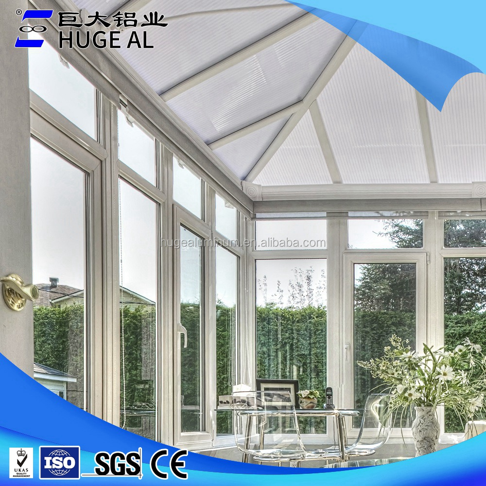 Top quality strong tempered glass conservatory sunhouse