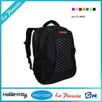 Factory Wholesale High quality felt genuine leather laptop trolley bag