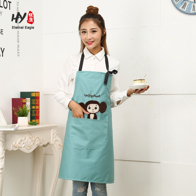Breathable working half body cotton canvas apron