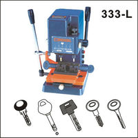 used duplicate key cutting machine for 333-L key slot milling cutting mahcine with vertical cutter