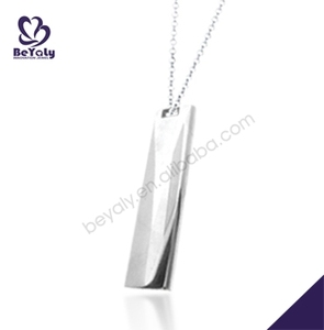 fashion 316L stainless steel pendant necklace jewelry scalar energy pendant