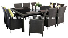 New Rattan Wicker Outdoor Dining Set 10 Seater