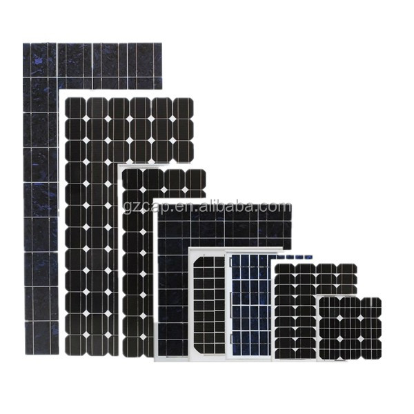 solar panel with integrated battery100w 150w 200w 250w 300w 18v 36v with CE certification factory direct