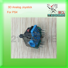 Green Color 3D Analog Joysticks for PS4 Wireless Controller,Game Repair Parts Analog 3D Joysticks