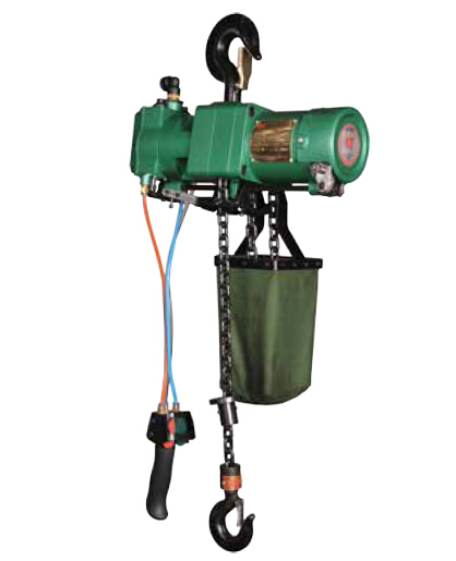 0.125T, 0.25T pneumatic air chain hoist