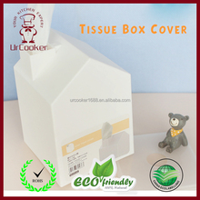 Lovely house tissue box,creative tissue box cover, advertising gifts