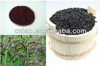 100% Pure Natural Black Glutinous Rice Extract--Professional Manufacturer