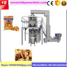 Automatic big bag puffed food rice crackers corn flakes filling and Packing Machine