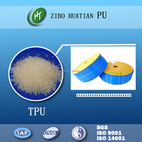 Thermoplastic polyurethane resin excellent in weather resistance hose from TPU granules
