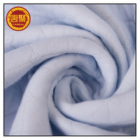 hypoallergenic 100% cotton knitted fabric, waterproof laminated PU fabric