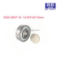 china bearing manufacturer 6203-2rst-10 roller bearing for automobile parts