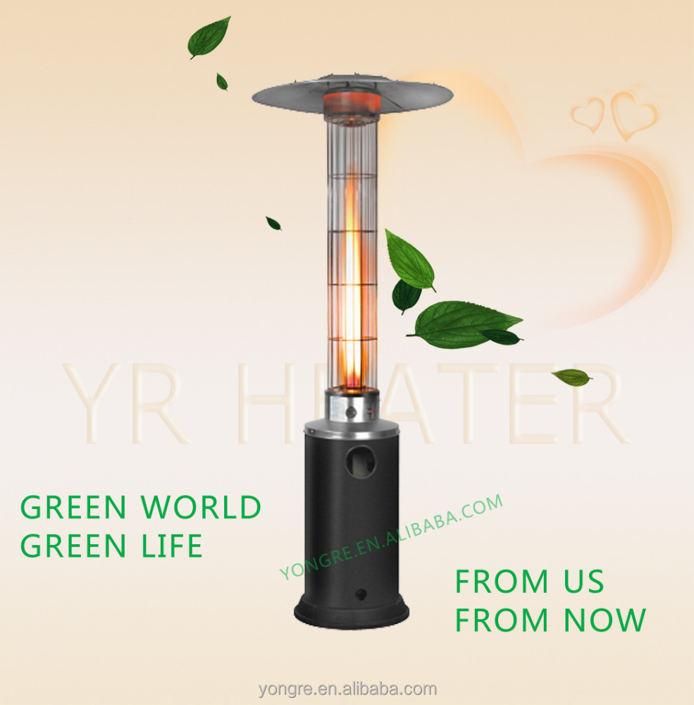 Outdoor Glass Tube Gas Flame Heater Lp   Buy Flame Heater,Patio Heater, Outdoor Gas Heater Lp Product On Alibaba.com