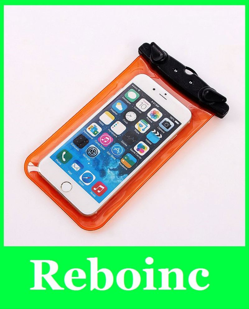 multi-colours smart mobile phone pvc waterproof case for iphone5 5s