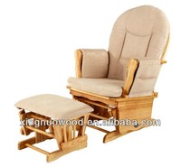 Ladybird Gliding Nursing Chair with Footstool