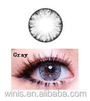 HOT sale eos korea contact lens LUNA ice II gray colored contacts