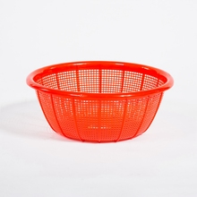 38cm Plastic Colander Home Cooking Tool Nestable HDPE Strainers for Holesale