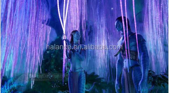 Decoration Light Curtain Fiber For Ktv Door Decoration