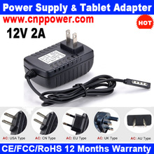 Power Charger Adapter for Microsoft Surface Windows RT Charger Model 1512 12V 2A AC Adapter for Microsoft 1513 12V 2A AC Adapter