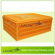 Leon best selling chicken/broiler plastic transportation crate/cage/box