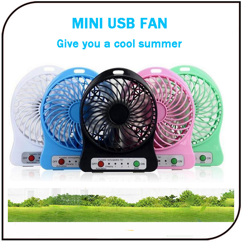 Portable Micro Mini Usb Fan Lithium Battery Operated Mini Electric Fans for Mobile Phone Charging