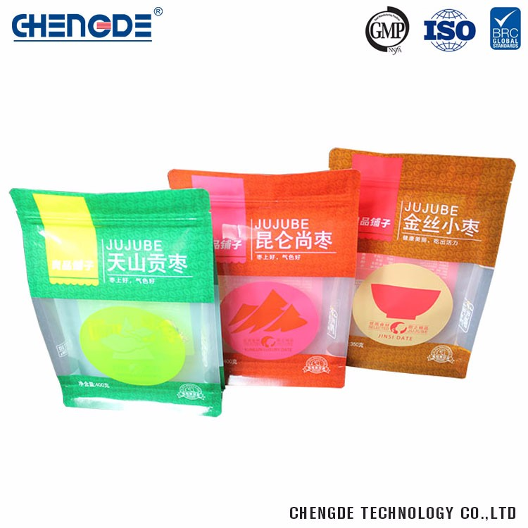 High Quality Laminated Material China Manufacturer Snack Food Packaging