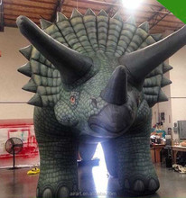 Giant inflatable rhino, inflatable monsters, inflatable rhino monster customization
