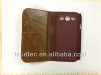 Wallet Leather Case for Mobile Phone, 2 in 1 Leather Case for Samsung Galaxy S3 i9300