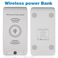 8000mAh Wireless Power Bank Charger;Wireless Charger Power bank for all QI standard mobile phone,QI standard charging receiver
