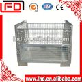 excellent quality industrial stackable storage wire mesh container