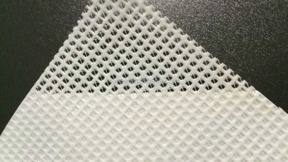 biaxial polyester mesh fabric for pvc coated fabric processing