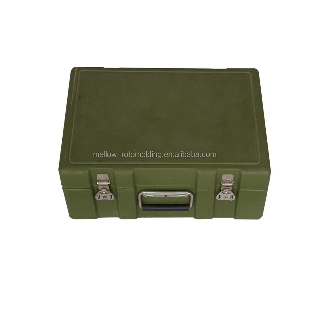 Military use rotational molding toolbox