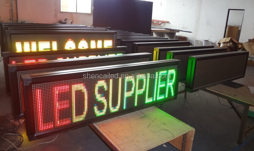 guangzhou shencai video xxx p10 outdoor led display